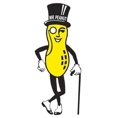 Only wealthy peanuts can afford monocles and fashion canes.