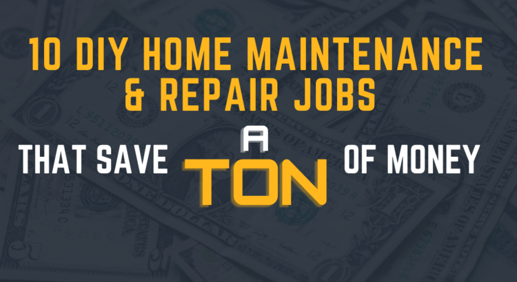 10 DIY Home Repair jobs to save money