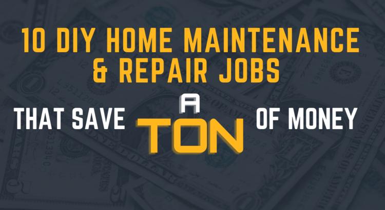 10 DIY Home Repair jobs to save money