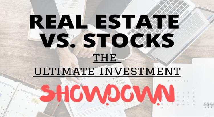 stock investing versus real estate